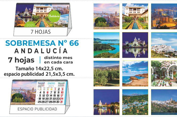 Calendario publicitario 2021 ANDALUCÍA